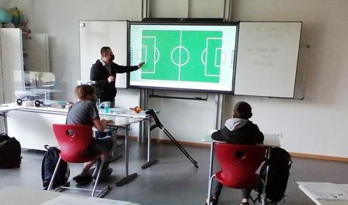Unterricht an der Dominikus Savio Schule Pfaffendorf